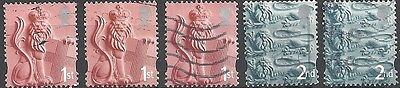 GB Country Definitives - England - Pictorial Issue (Lot #311)