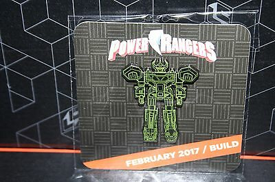 Loot Crate DX Megazord Blueprint Pin