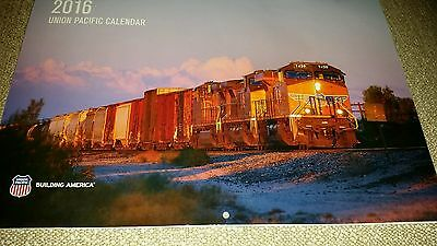 2016 Union Pacific Railroad wall calendar, Never opened  (until photo taken)