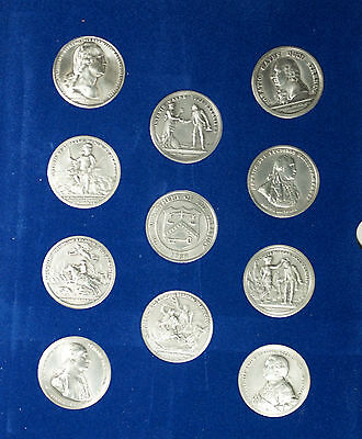 1973 America's First Medals Set Pewter Battles of the American Revolution