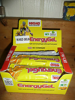 HIGH 5 ENERGY GELS BOX OF 20 40g MIXED FRUIT see details