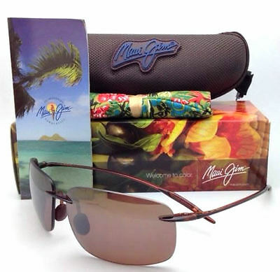 NEW Maui Jim Sunglasses H422-26 Breakwall Tortoise / HCL Bronze Polarized Lenses