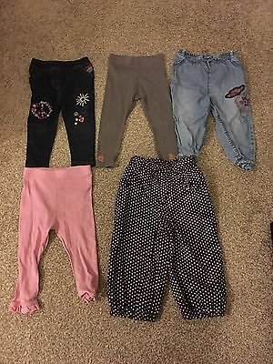 Baby Girls Clothes Bundle 12-18 Months Trousers