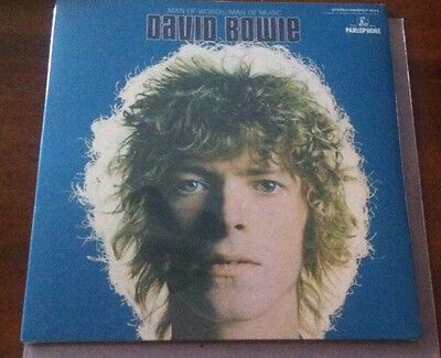 David Bowie- Man Of Words Limited Blue Vinyl (Amsterdam Bowie Is) Sealed!!