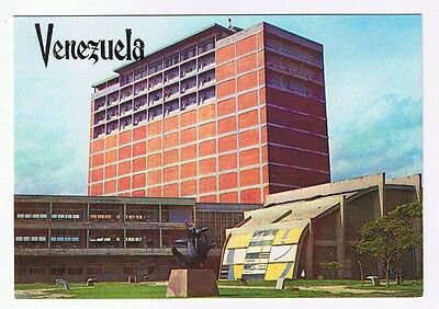 The Library Building - Central University Caracas Venezuela Postcard # 464