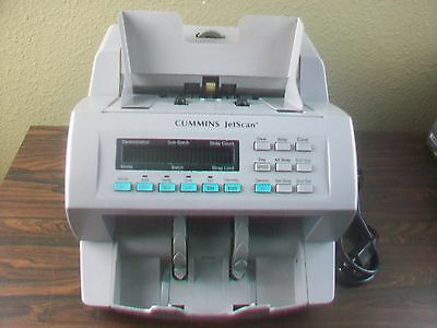 Cummins Jetscan 4062 Currency Cash Counter CF Detection