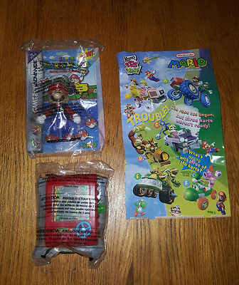 Nintendo Super Mario World premium Action Figure and car game vintage Wendys