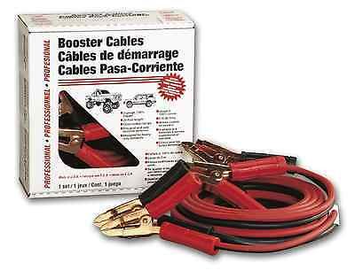(2) Deka 07044 - 2 Gauge x 20' Professional Booster Cable, Copper, Made in USA