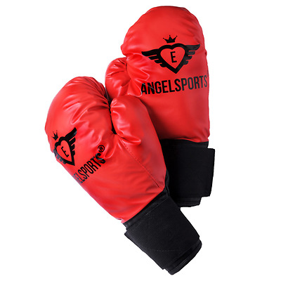 Angel Sports Kids Boxing Gloves Sparring Training Mitts Muay Thai Protect 704012