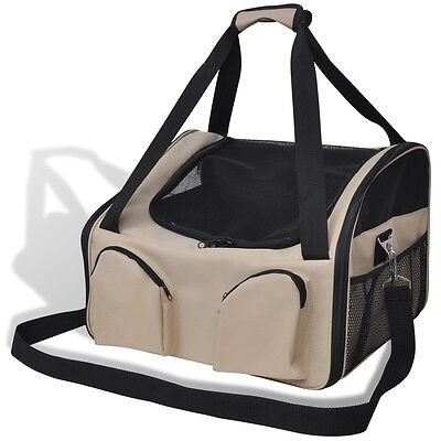 Portable Pet Bag with Shoulder Strap 42 x 38 x 30 cm