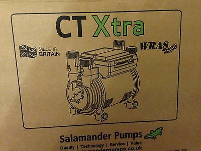 Salamander CT75 CT75XTRA Extra 2.0 Bar Positive Twin Shower Boost Pump