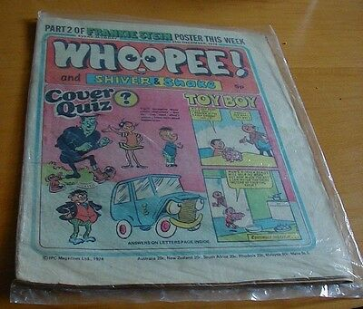 Old Whoopee comic 1974