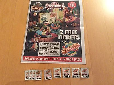 Fantastic Sun Offer 2 x Chessington Tickets Booking Form and All 10 Vouchers