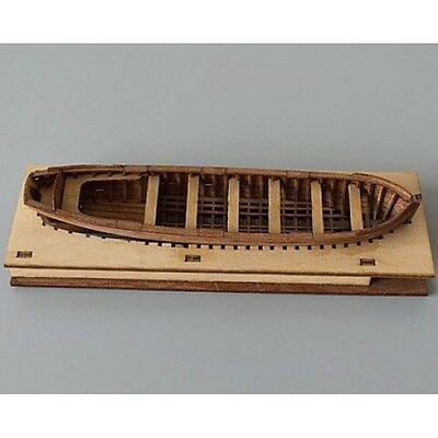 English boat (pinnace) of HMS Surprise 1/75 wooden kit scale model