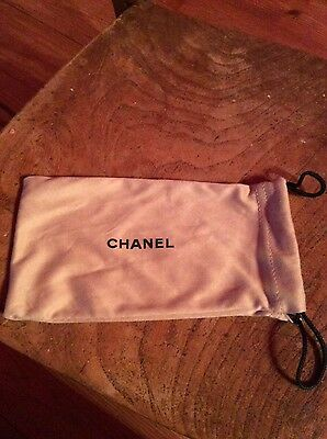Chanel sunglasses soft pouch