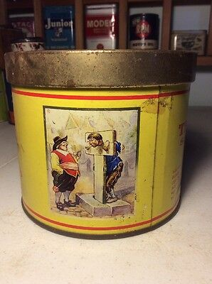Vintage Troost Special Tobacco Tin Can Round Advertising Smoking Cavendish Royal