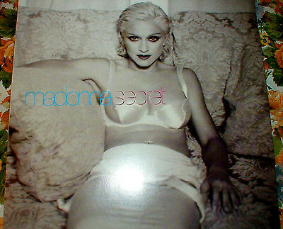 "MADONNA SECRET 12"" VINYL EP MADE IN GERMANY LET DOWN YOUR GUARD from BEDTIME LP"