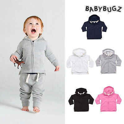BabyBugz Baby Hoodie (BZ32) Toddler Warm Zipped Hooded Jumper Boy Girl 6m-3yrs