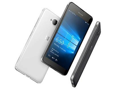 Microsoft/Nokia Lumia 650 SimFree 5 Inch Windows 4G LTE Unlocked Smartphone 16GB