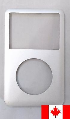 iPod Classic 6th 7th Gen Front Faceplate Housing Case Cover - Silver
