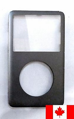 iPod Classic 6th 7th Gen Front Faceplate Housing Case Cover - Black