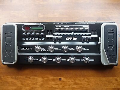 Zoom G9.2tt Guitar Multi Effects Pedal Console Processor Twin Tube