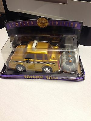 NIB Chevron Cars- Taylor Taxi (Package is Dented)