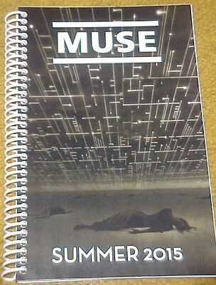 Muse 2015 Summer Tour Itinerary (60 pages)