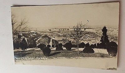 WWI RPPC Sevastopol Russia Showing Navy Yard Real Photo Postcard March 1920