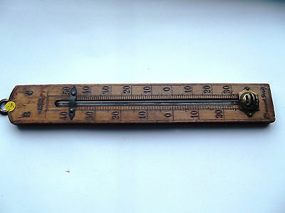 Zimmer-Thermometer  Antik   ( 21 )