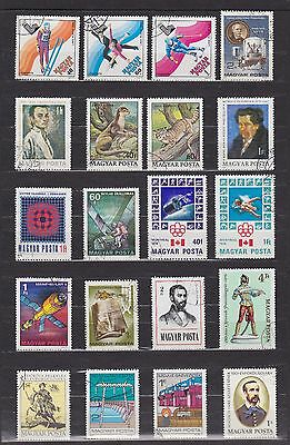 Hungary (19) - Another Good Lot Of 20 Used Stamps - See Scan.