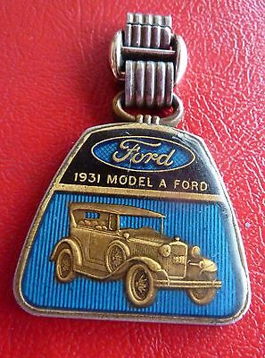 Vtb Ford1931 Model A Watch Fob Model A Dimensions Specification Price On Back