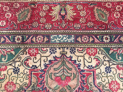 10x13 HAND KNOTTED WOVEN PERSIAN AREA RUG IRAN MADE WOOL WOVEN 10 x 13 antique 9