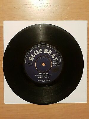 Big fight. prince buster. label BLUEBEAT. reggae