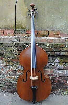 1922 Friedrich Hänsel Mittenwald Double Bass - ideal for Jazz and Orchestra