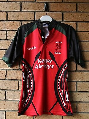 Kenya Rugby Kooga Men's Rugby Union Jersey Medium Rare!