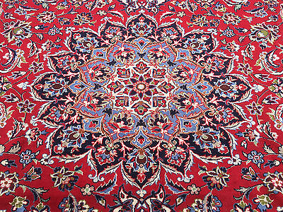 10x13 HAND KNOTTED PERSIAN IRAN AREA RUG WOVEN WOOL rugs 10 x 13 antique 9 12 14