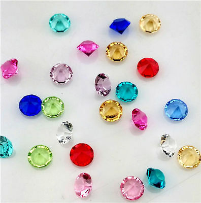 20 MIXED COLOURS ACRYLIC 3mm CRYSTALS RHINESTONES suit FLOATING MEMORY LOCKETS