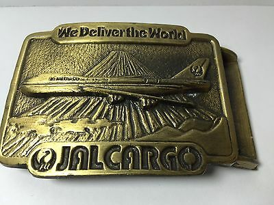 Rare Vintage JAL CARGO We Deliver The World Japan AirLines  P 277 Made in USA