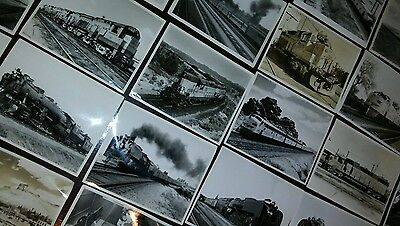 Lot of 30 Vintage Union Pacific Railroad Photos 8X10 black and white