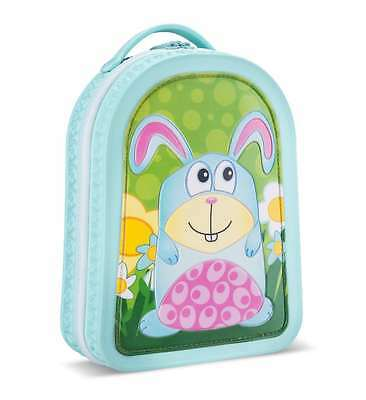 Green Frog Lunch Bag Bunny Rabbit Backpack School Toddlers Little Kids Boys New