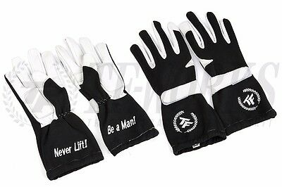 Driving Racing Gloves BE A MAN TF-Works Touge Factory - BLACK