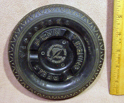 Firestone Tire Ashtray 1939 Philadelphia Sportsmens Show