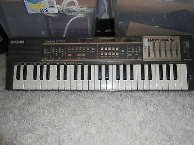 Vintage Casio Casiotone MT - 100 Musical piano electronic keyboard ++WORKS++