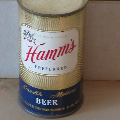 Hamms  Preferred  Beer  Real Beauty Inside   Flat Top