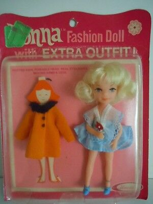 """Super Scarce, Hard-To-Find Vintage Uneeda Tiny Teen Doll+ Extra Dress """" Donna L3"""