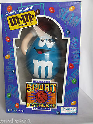 M&M's Candy Dispenser - Baskettball   - Limited Edition