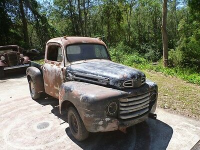 1948 Ford F1 Pickup F100 classic shop truck hotrod patina chevy builder cheap