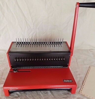 IBICO AG Heavy Duty Punch Plastic Comb Binding Machine