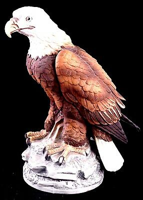 Andrea By Sadek Porcelain Bird Figurines: Bald Eagle by Andrea